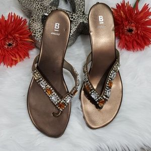 Bakers Adorn Wedge Sandals
